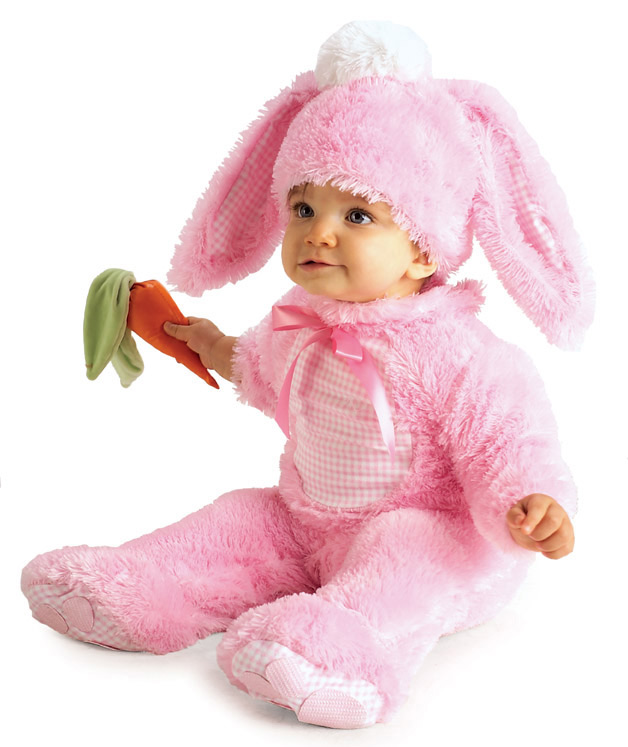 Precious Pink Rabbit Costume