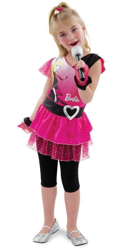 Rockin' Diva Barbie Toddler/Child Costume