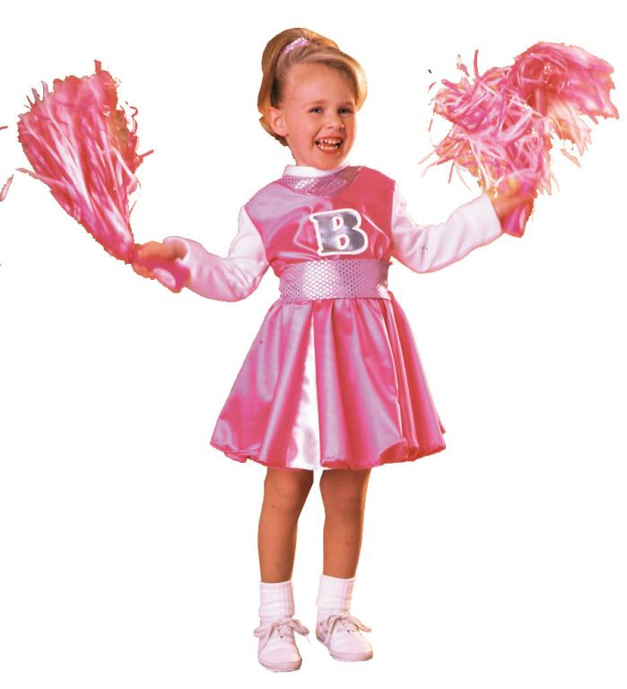 Barbie Cheerleader Toddler Costume