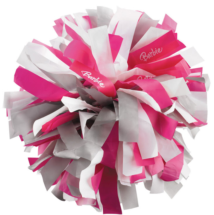 Barbie Cheerleader Pom Poms