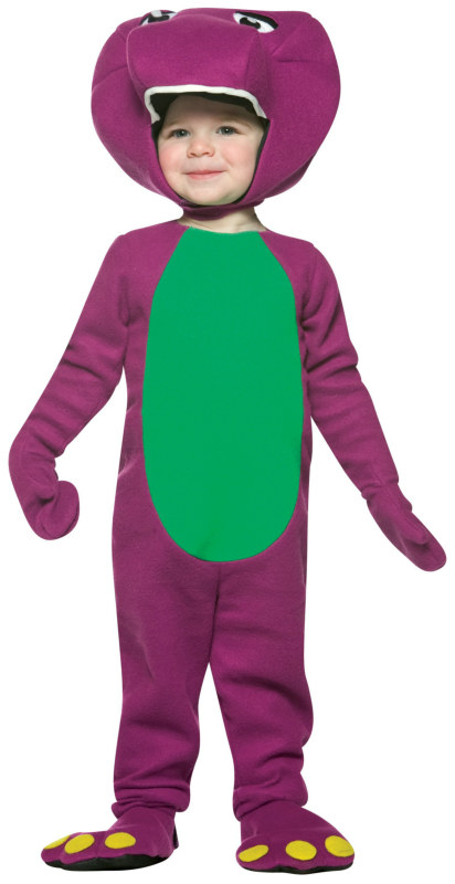 Barney and Friends-Barney Infant Costume