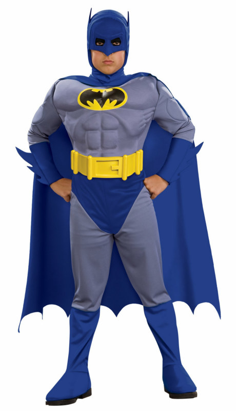 Batman Brave & Bold Deluxe M/C Batman Toddler/Child Costume