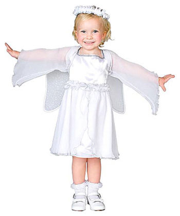 Heaven Sent Angel Toddler Costume