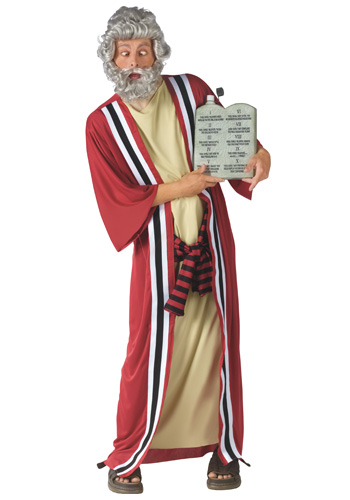 Moses Commandments of Party Costume