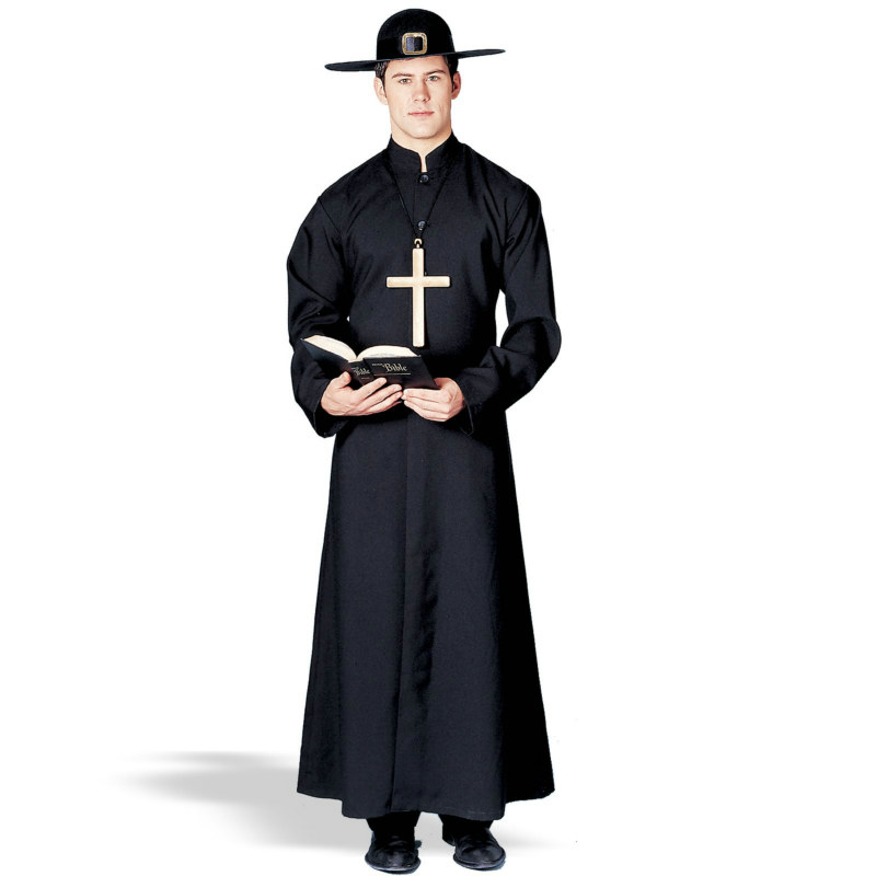 Padre/Priest Robe Adult Costume