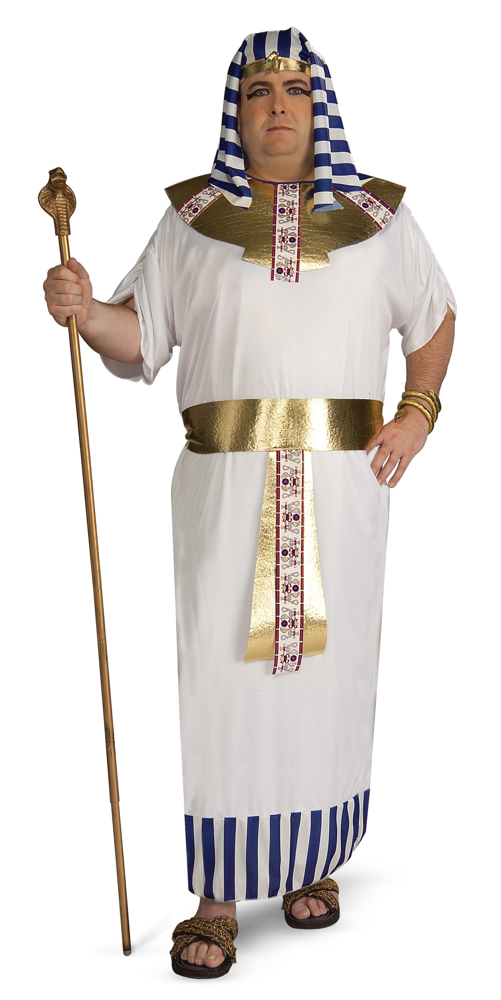 Pharaoh Adult Plus Costume