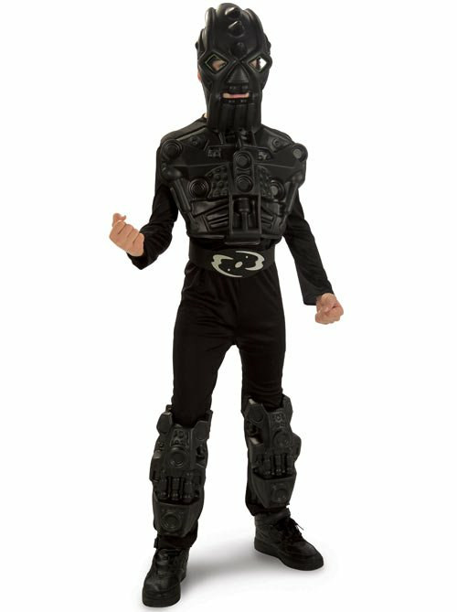 BIONICLE - Black Tao Child Costume - Click Image to Close