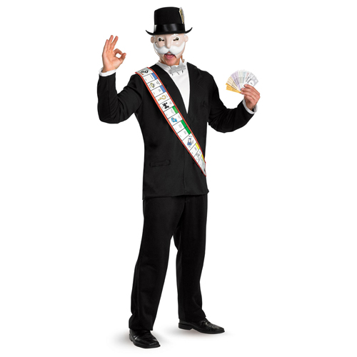Mr. Monopoly Deluxe Adult Costume