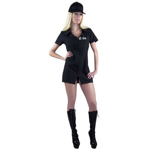 CSI Woman Adult Costume