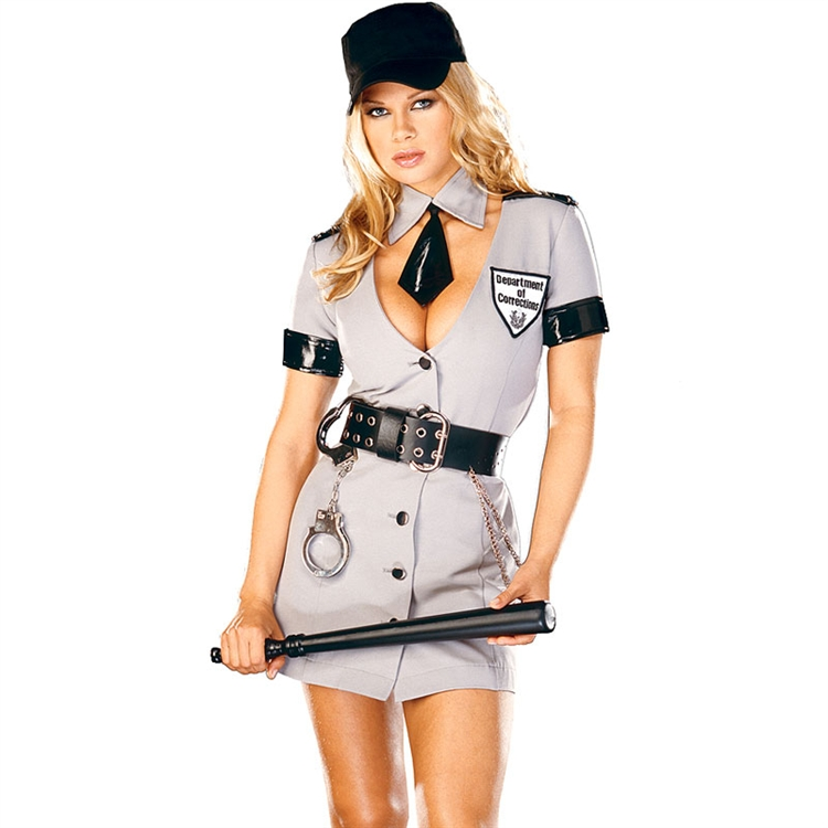 Corrections Officer Sexy Costume
