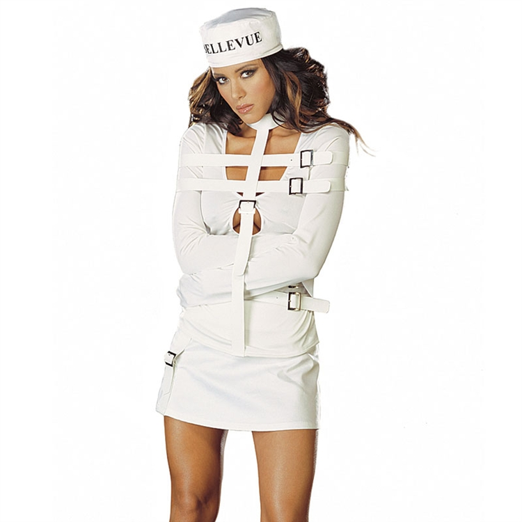 Ella Mental Sexy Straight Jacket Costume - In Stock : About ...