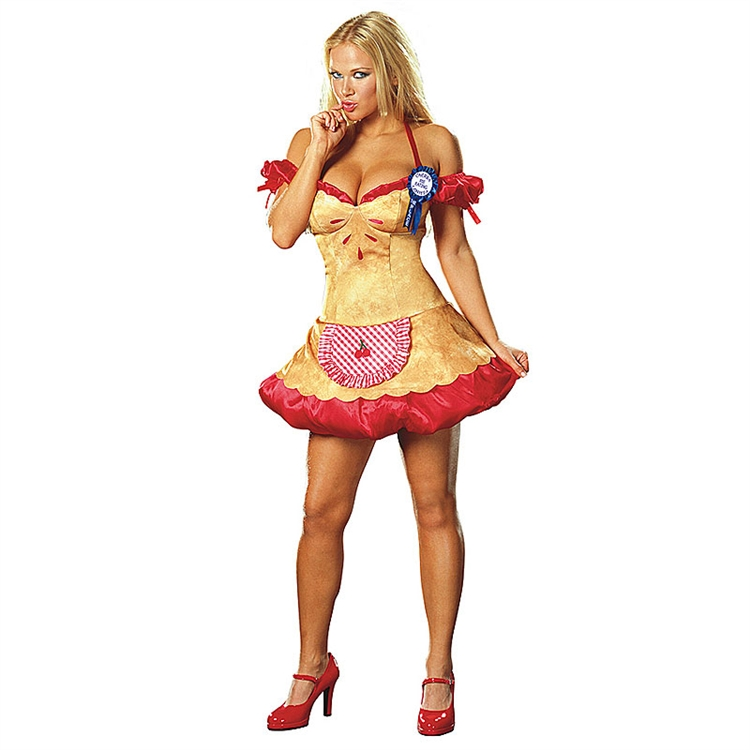 Sexy Hot Cherry Pie Adult Costume