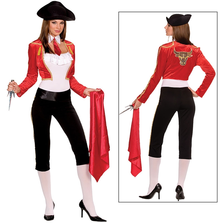 Bull Fighting Babe Adult Costume