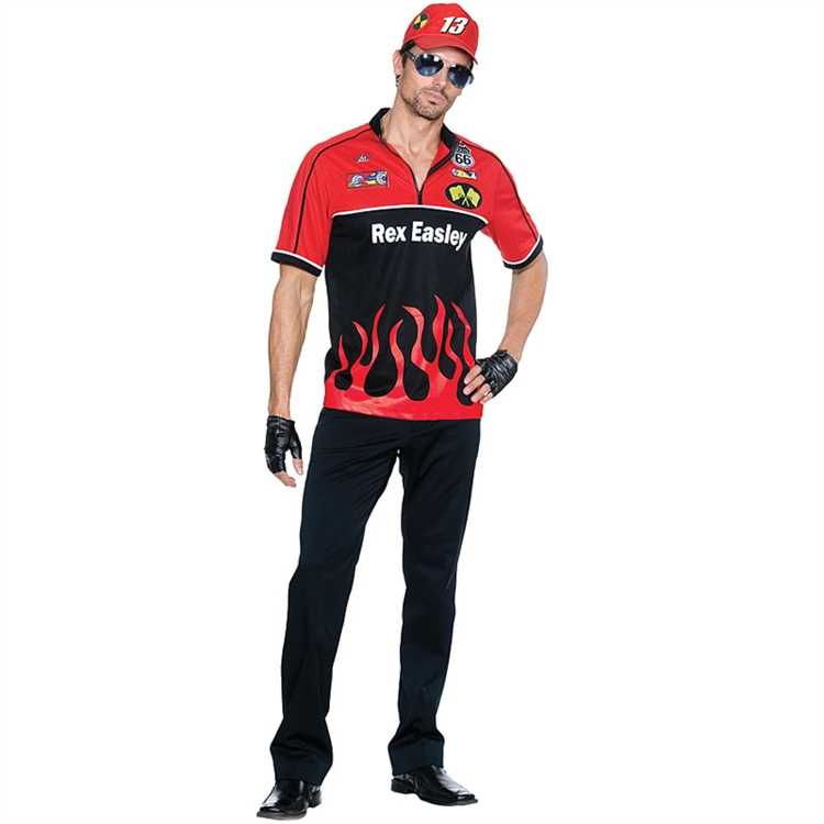 Rex Easley Race Car Driver Costume - In Stock : About Costume Shop
