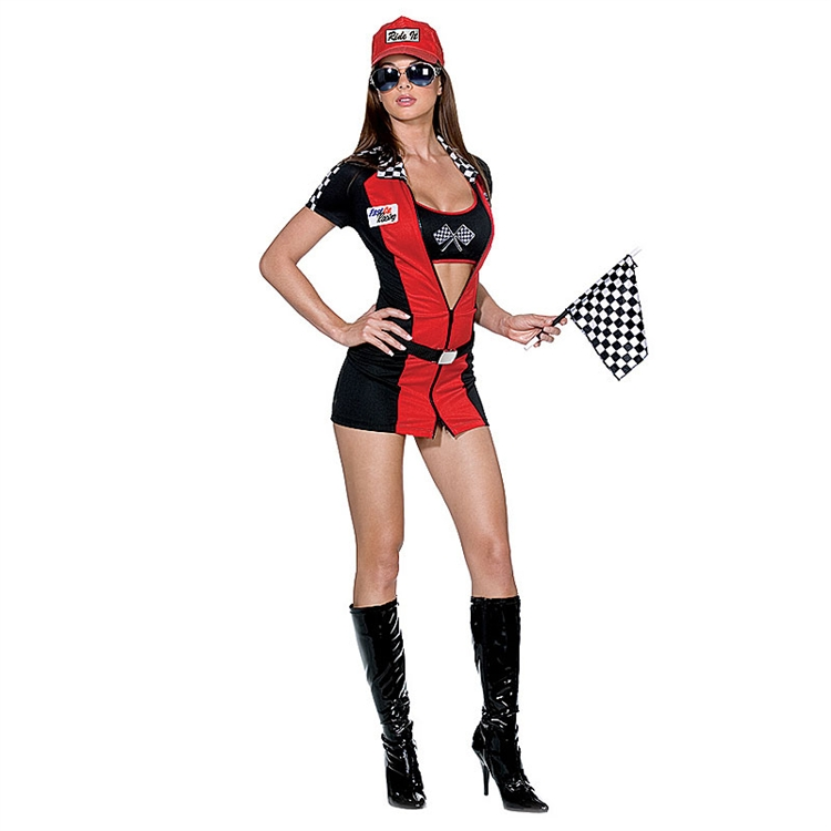 Race car driver sexy costume