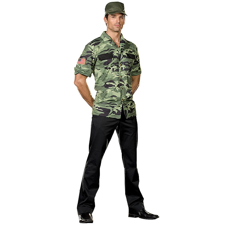 Sergeant Lou Tenet Military Adult Costume