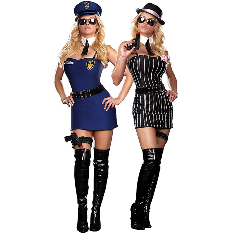 The Dirty Double Reversible Adult Costume