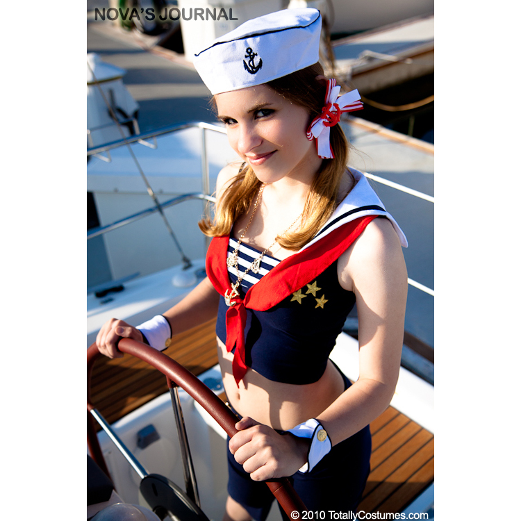 First Mate Sexy Sailor Girl Costume