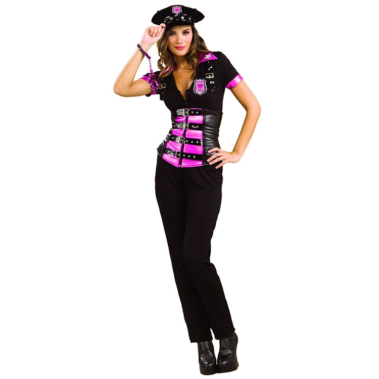 Pink Fashion Police Adult Costume