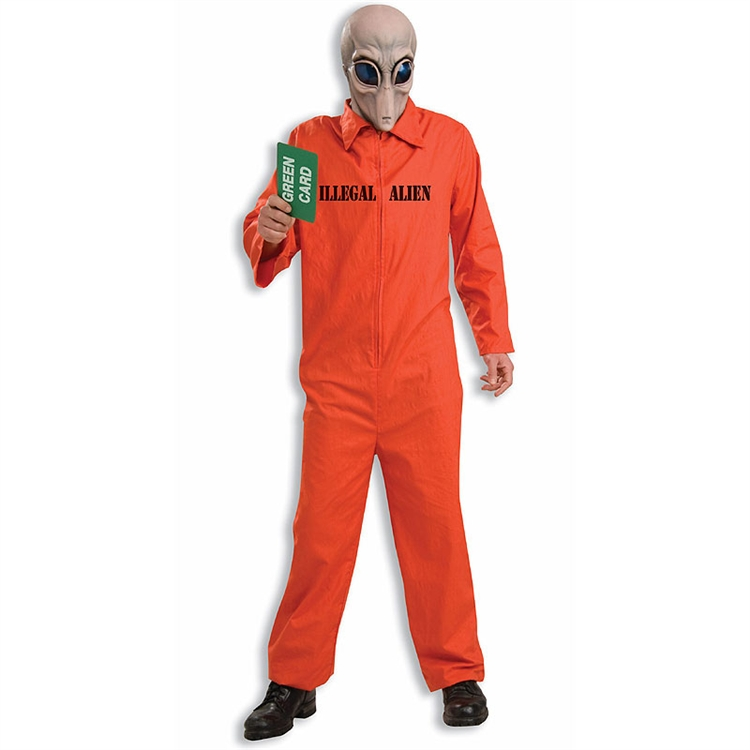 Illegal Alien Funny Adult Costume