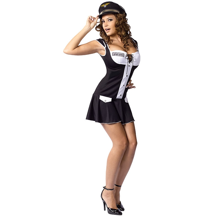 Sexy Captain Layover Adult Costume