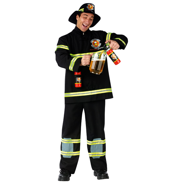 Fill'er Up Funny Firefighter Adult Costume
