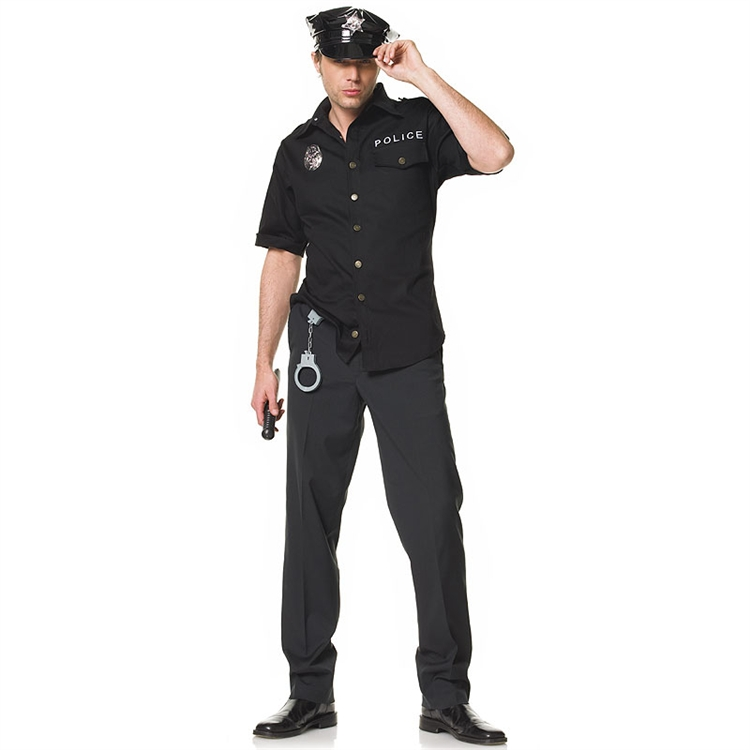 Men's Corrupt Cop Adult Costume