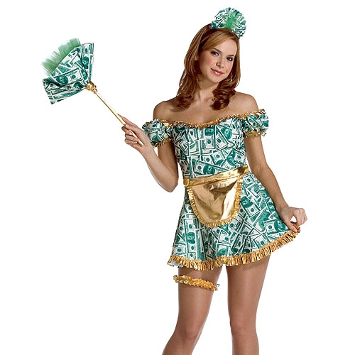 Maid of Money Adult Costume