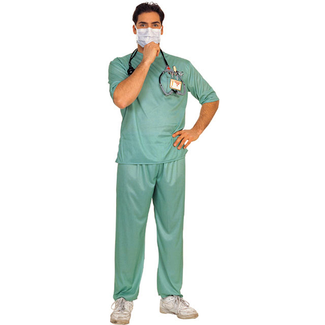 Emergency Room Male Surgeon Costume