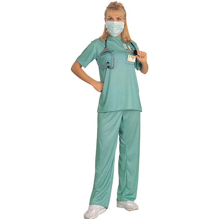 Adult Emergency Room Female Doctor Costume