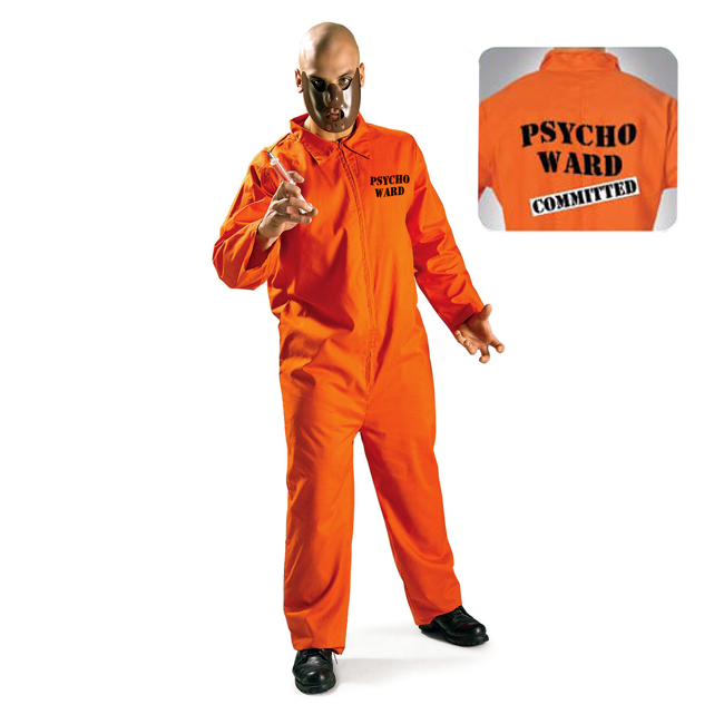 Psycho Ward Adult Costume