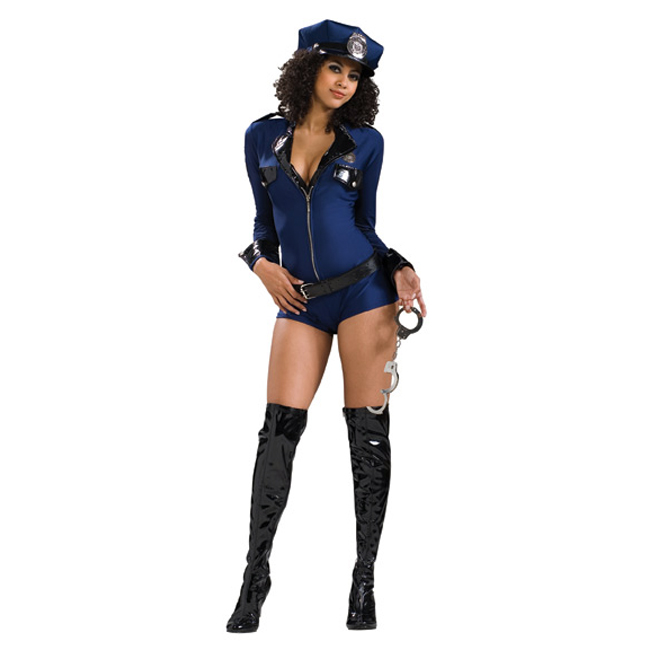 Miss Demeanor Police Officer Sexy Costume
