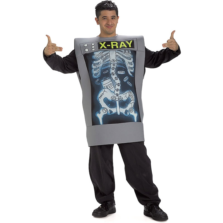 Male X-Ray Machine Adult Costume