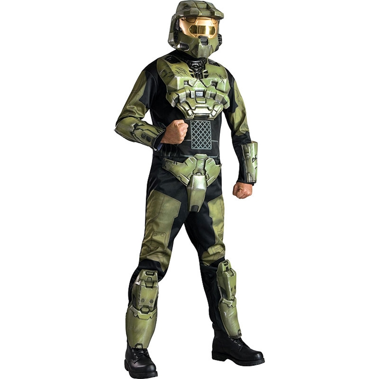 Deluxe Halo 3 Master Chief Adult Costume - Click Image to Close