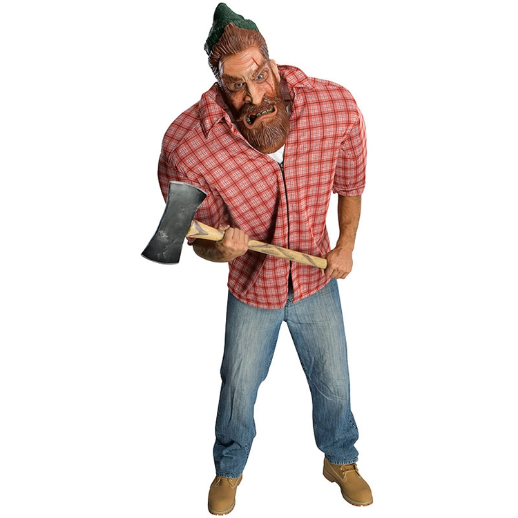 Big Bruizer Lumberin Jack Adult Costume - Click Image to Close