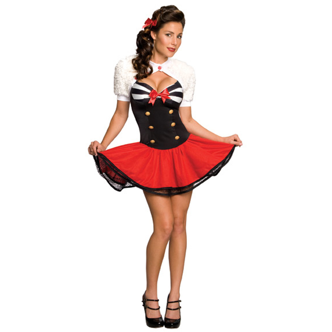 Naval Pin-Up Girl Sexy Costume