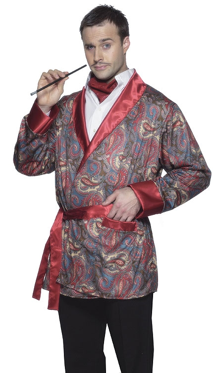 Bachelor Smoking Jacket Costume