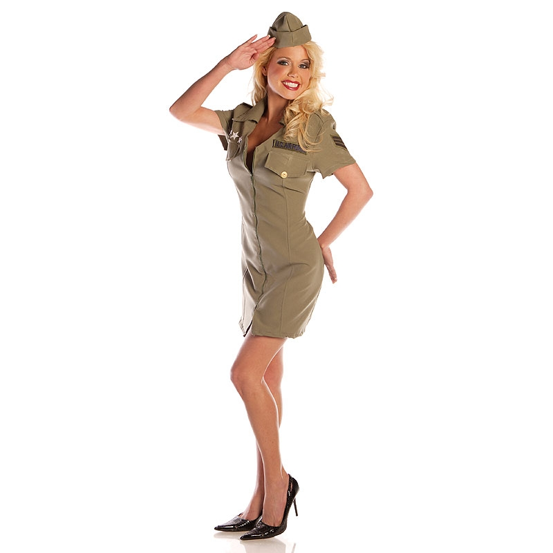 Fly Girl Air Force Adult Costume