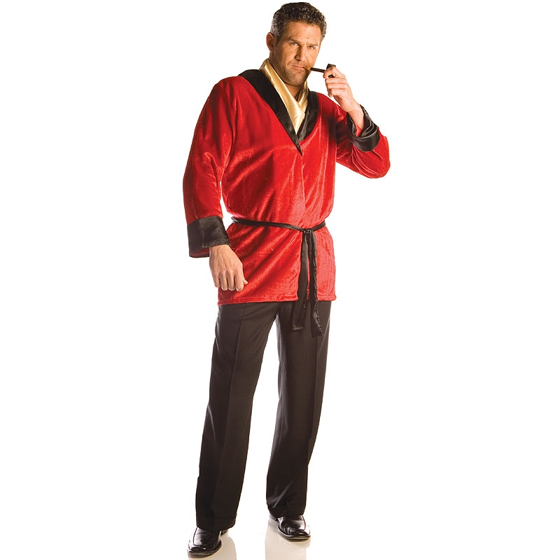 Smoking Jacket Mens Adult Costume