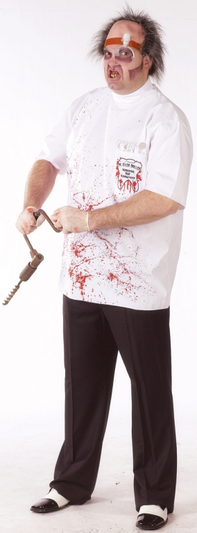 Dr Killer Driller Adult Plus Size Costume