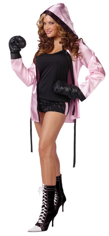 Knockout Sexy Boxer Adult Costume