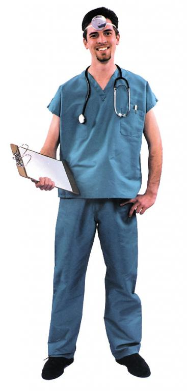 Medical Scrubs Adult Costume