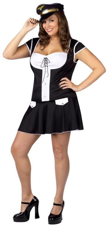 Captain Plus Size Costume