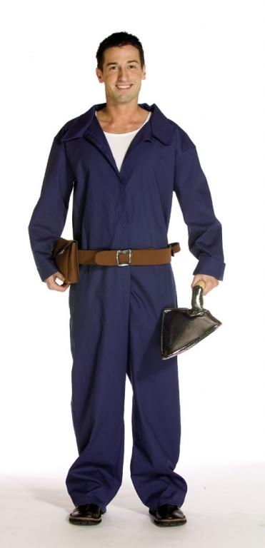 Brick Layer Jumpsuit Adult Costume