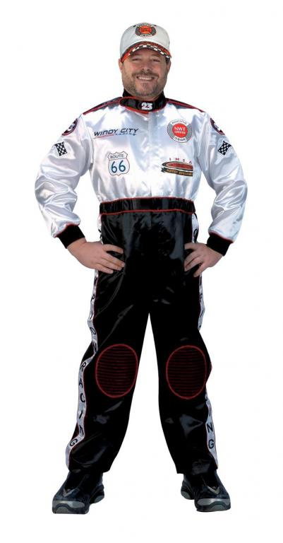 Black Racing Suit Adult Costume