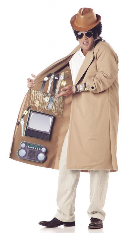 Street Entrepreneur Adult Costume