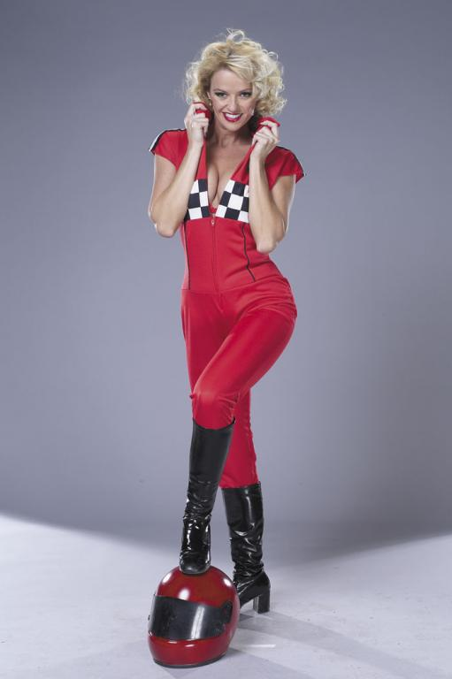 Red Racer Adult Costume