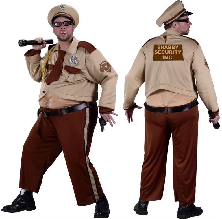 Shabby Security Adult Costume
