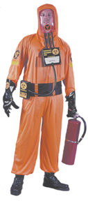 Biohazard Suit Adult Costume