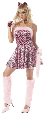 Purrty Kitty Adult Costume